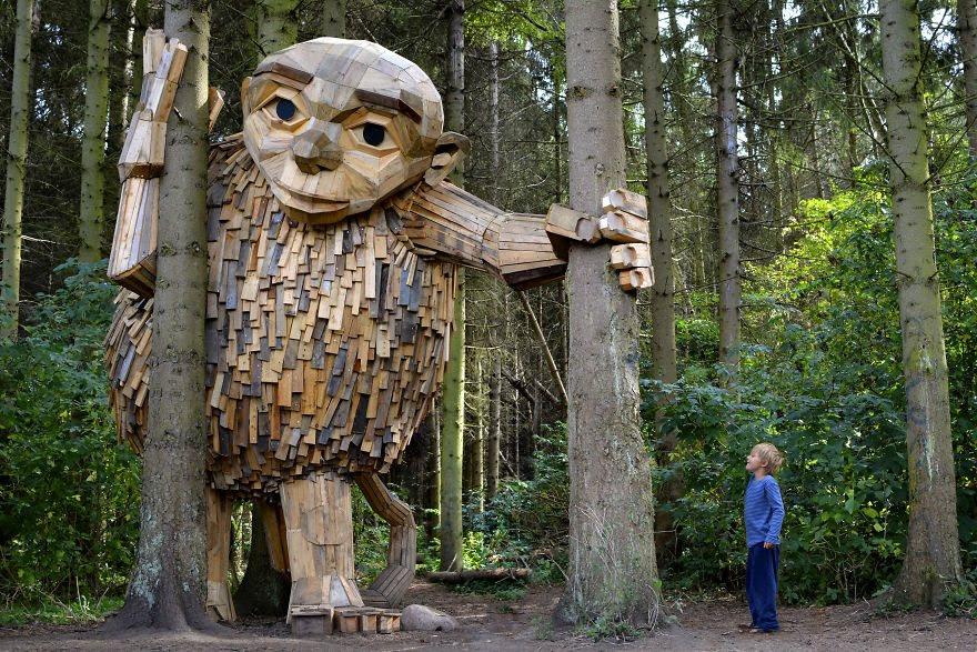 Hihetetlen faóriások bujkálnak a dán erdőkben