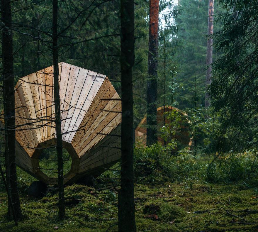 Építmények az erdőben - Erdő a művészetben