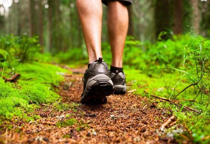 séta kalória égetés fiatalság