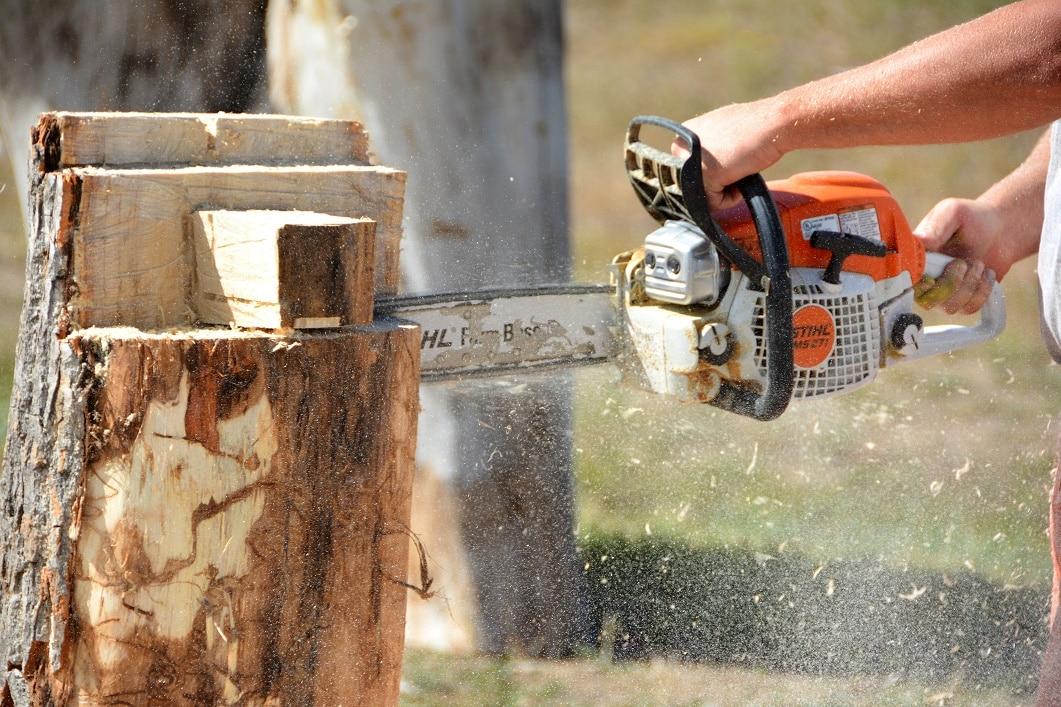 Fából faragott fa: VIDEÓN az ünnepi fenyő kifaragása láncfűrésszel
