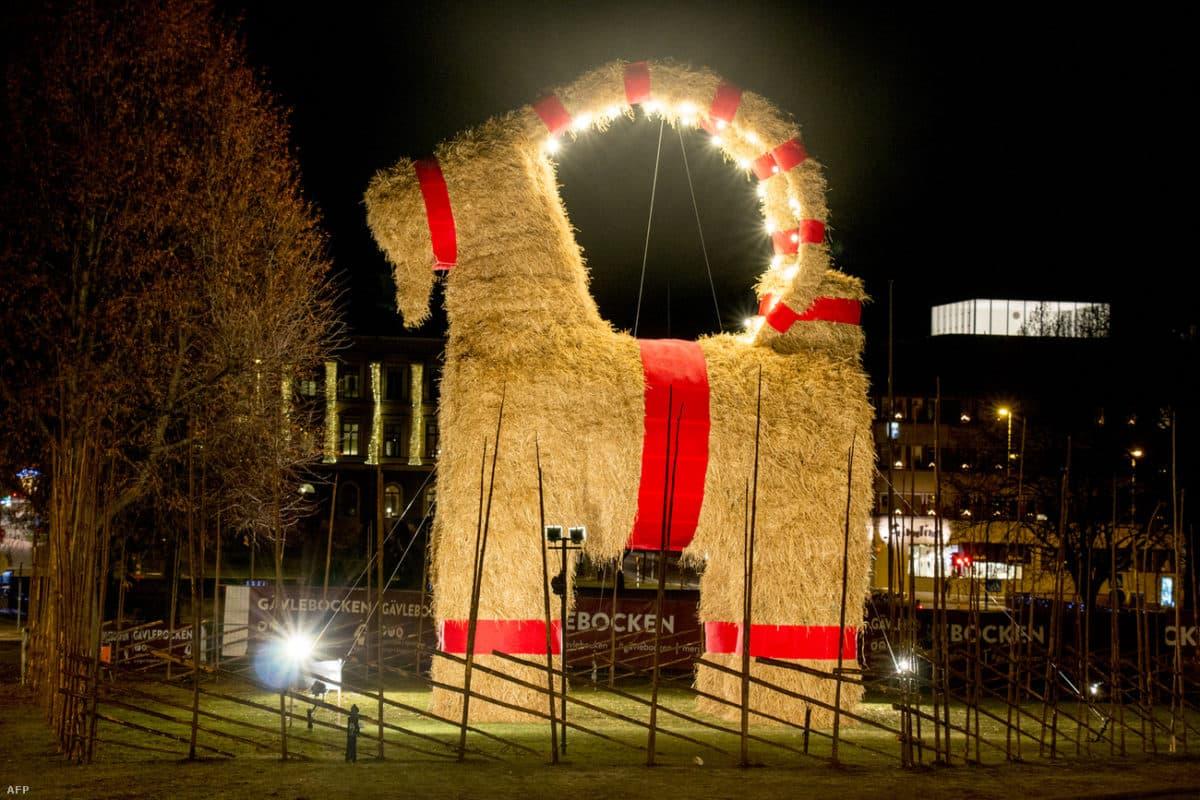 Ünnepi szokások a világ körül – Szalmakecske, mint a karácsonyi készülődés jelképe